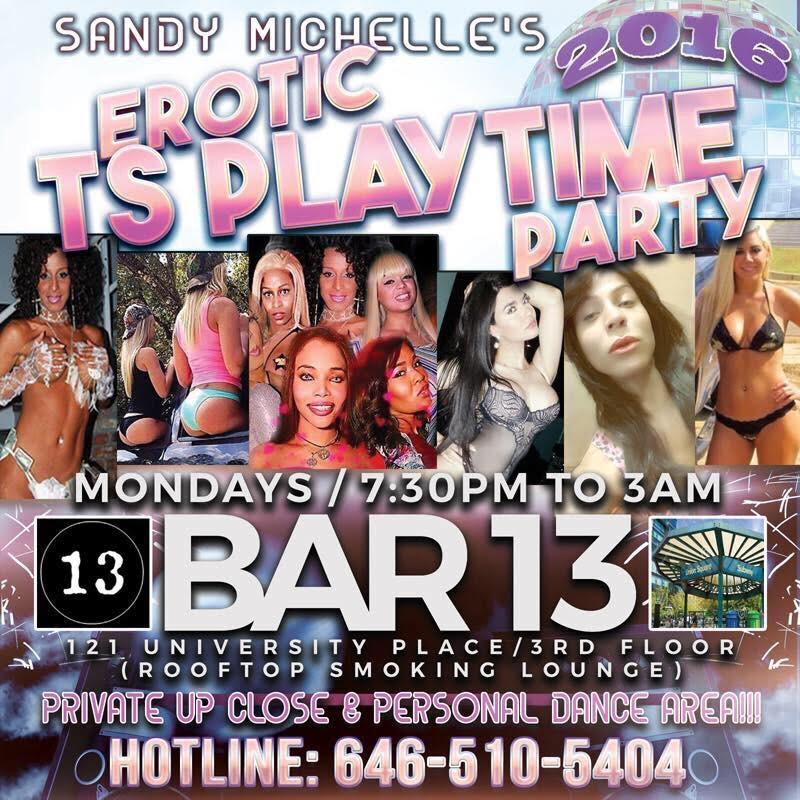 TS nightclub Monday event