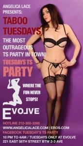 Taboo Tuesdays @ Evolve Lounge | New York | United States
