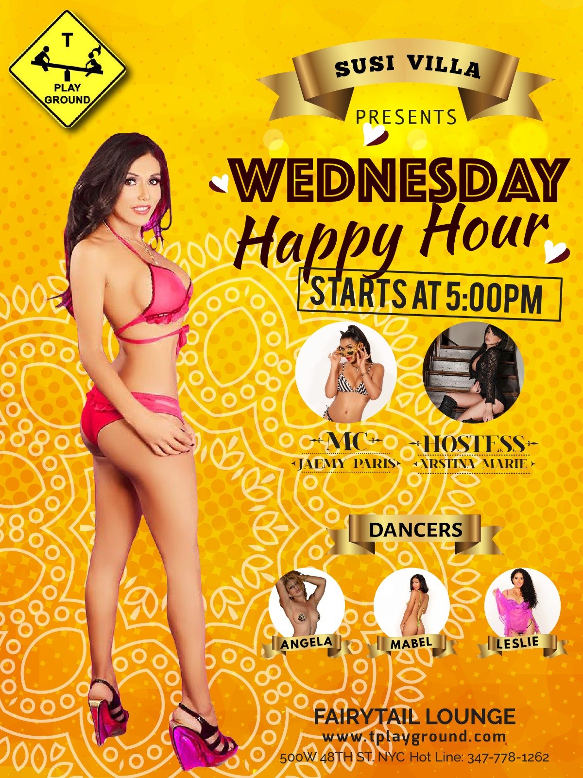 TPlayground Wednesday Happy Hour! @ Fairytail Lounge | New York | New York | United States