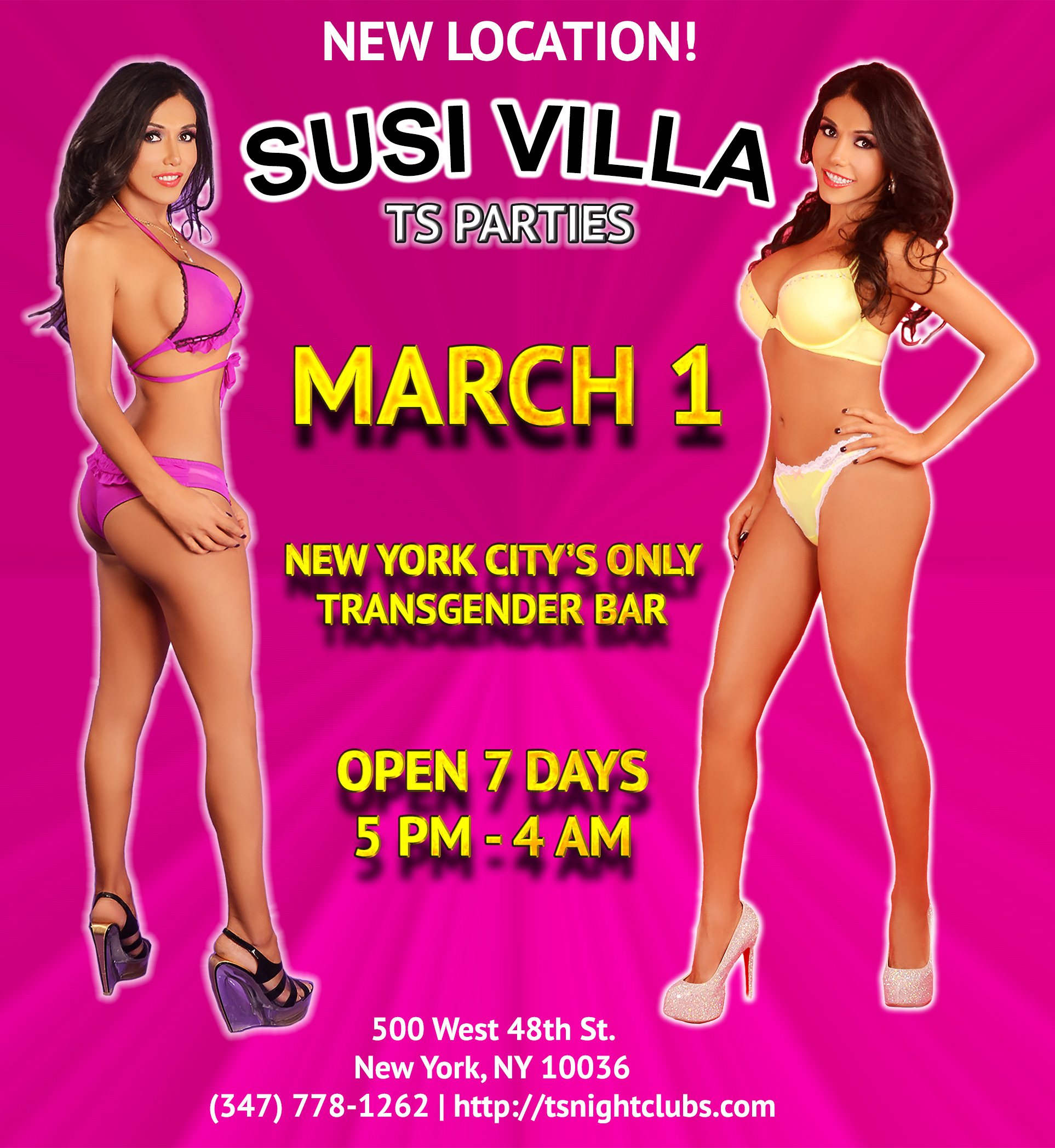 Susi Villa NYC All Trans Bar